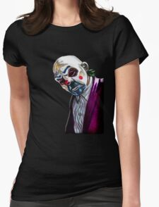 the Joker- Bank robber mask Womens Fitted T-Shirt