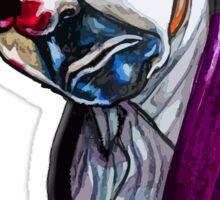 the Joker- Bank robber mask Sticker