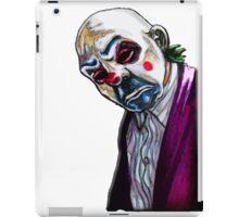 the Joker- Bank robber mask iPad Case/Skin