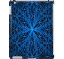 Blue Eternity Web Fractal iPad Case/Skin