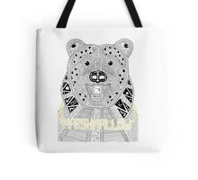 Marshmallow Gangsta Bear Tote Bag