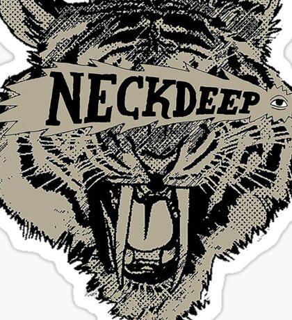 Neck Deep Logo Sticker