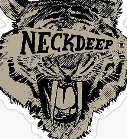 Neck Deep Logo Sticker