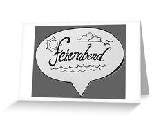 FEIERABEND Greeting Card