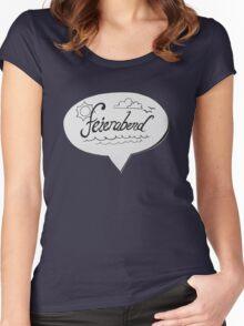 FEIERABEND Women's Fitted Scoop T-Shirt