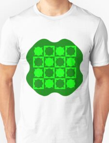 Four Leaf Clover Patch Unisex T-Shirt