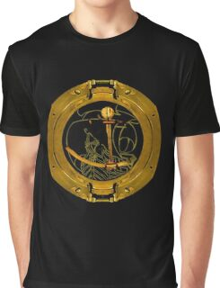 Seas, Sails And Stars Graphic T-Shirt