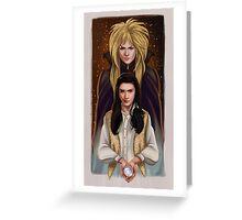 Labyrinth Greeting Card