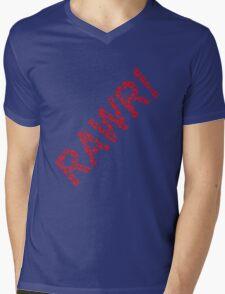 Dinosaurs rawr! Mens V-Neck T-Shirt