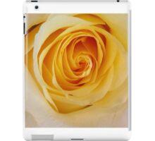 Yellow Rose..Joy,Caring,Memories iPad Case/Skin