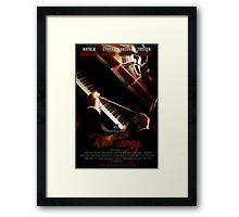 Red Song Teaser Poster Framed Print