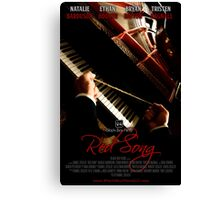 Red Song Teaser Poster Canvas Print