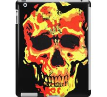 BURNING SKULL iPad Case/Skin