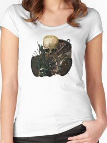 Sunken Pirate Treasure Trove Women's Fitted Scoop T-Shirt
