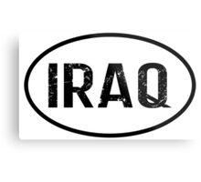 Iraq Metal Print