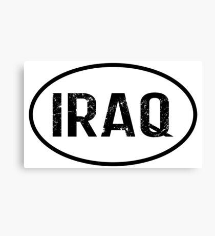 Iraq Canvas Print