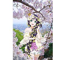Flowery Nozomi Photographic Print