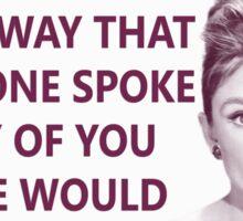 Good Girls - Audrey Hepburn Sticker