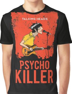 TALKING HEADS : PSYCHO KILLER Graphic T-Shirt