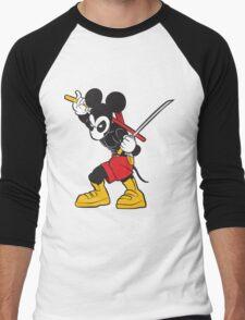 DeadMouse Men's Baseball ¾ T-Shirt