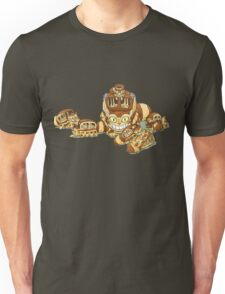Cat Bus and The Kittens Car Unisex T-Shirt