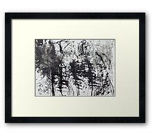 Trees I Framed Print