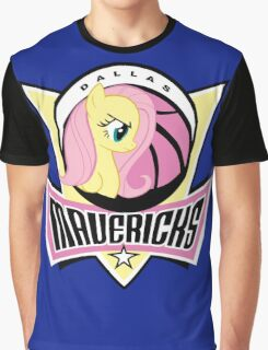 DALLAS MAVERICKS CUTE LOGO Graphic T-Shirt