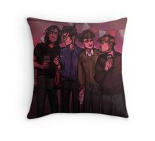 Let's Spike The Punch Throw Pillow