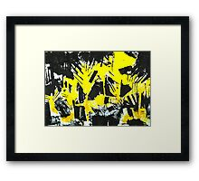Trees III Framed Print