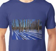 Blue Winter Day Unisex T-Shirt