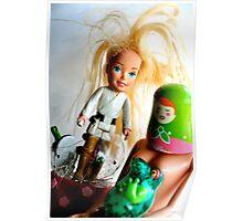 Barbie Skywalker Poster
