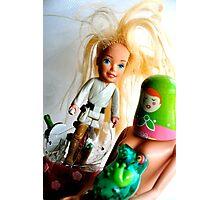 Barbie Skywalker Photographic Print
