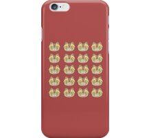 ghibli face iPhone Case/Skin