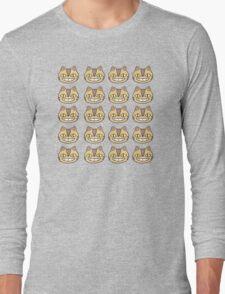 ghibli face Long Sleeve T-Shirt