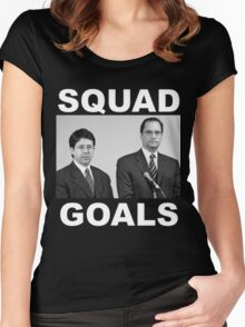 Dean Strang & Jerry Buting - Making a Murderer Women's Fitted Scoop T-Shirt
