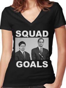 Dean Strang & Jerry Buting - Making a Murderer Women's Fitted V-Neck T-Shirt