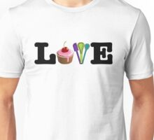 Love Baking Unisex T-Shirt