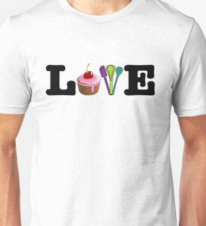 Love Baking Unisex T-Shirt