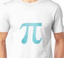 Light Blue Pi Symbol Unisex T-Shirt