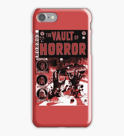 Vintage Golden Age Vault of Horror comic book cover RETRO iPhone Case/Skin