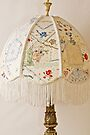 Vintage Lampshade Handstitched by Sandra Foster