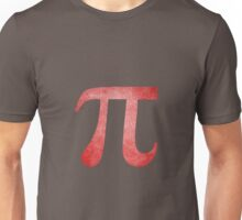 Red Pi Symbol Unisex T-Shirt