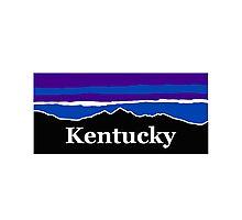 Kentucky Midnight Mountains Photographic Print