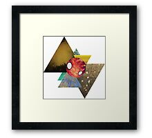 Colourful bow tie Framed Print