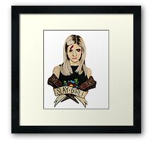 Slay Girl Framed Print