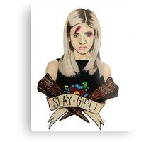 Slay Girl Metal Print