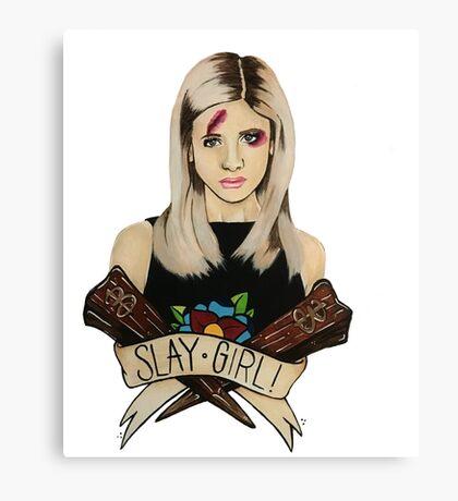 Slay Girl Canvas Print