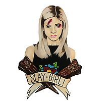 Slay Girl Photographic Print