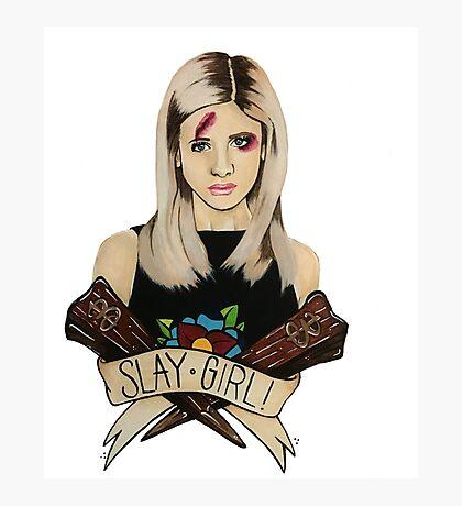 Slay Girl Photographic Print