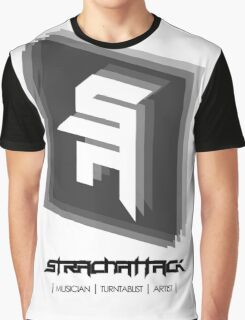 StrachAttack Music T-shirt 2.0 Graphic T-Shirt